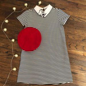 Unique Cat-Collar 60s Inspired Dress